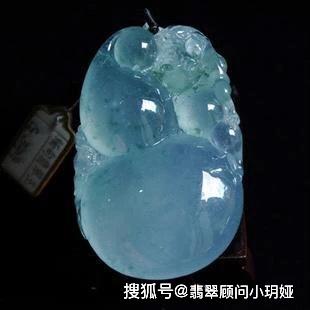 """翡翠中的""""蓝精灵""""——蓝水翡翠!"""