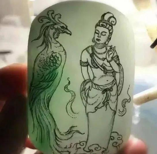 翡翠观音、佛......行家解密为什么翡翠雕刻总是老样式?