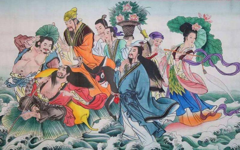 """道教文化与翡翠文化的结合,翡翠""""暗八仙"""",你知道有哪些吗?"""