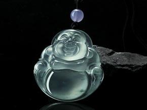 翡翠观音搭配怎样的项链欣赏缅甸翡翠的浮雕工艺