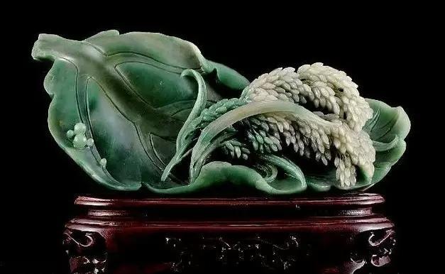 最接近真实生活的翡翠雕刻 雕刻菜瓜豆蔬菜类的特点及寓意